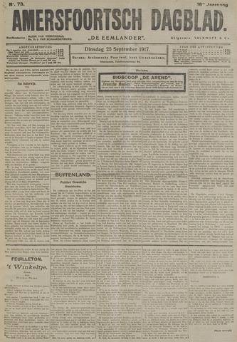 Amersfoortsch Dagblad / De Eemlander 1917-09-25