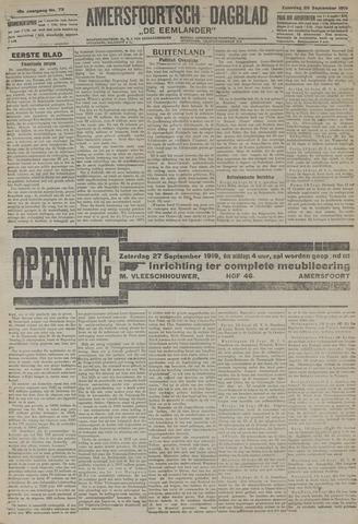 Amersfoortsch Dagblad / De Eemlander 1919-09-20
