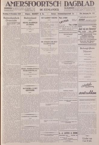 Amersfoortsch Dagblad / De Eemlander 1934-11-19