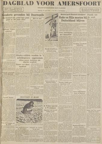 Dagblad voor Amersfoort 1947-04-12