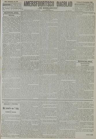 Amersfoortsch Dagblad / De Eemlander 1921-09-16