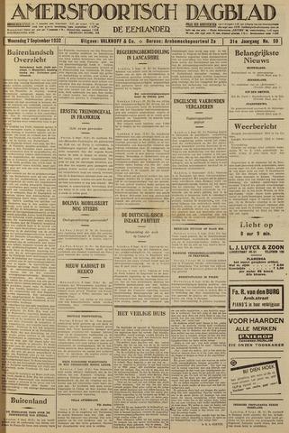 Amersfoortsch Dagblad / De Eemlander 1932-09-07
