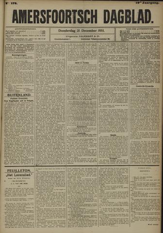 Amersfoortsch Dagblad 1911-12-21