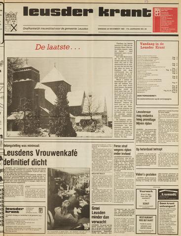 Leusder Krant 1985-12-24