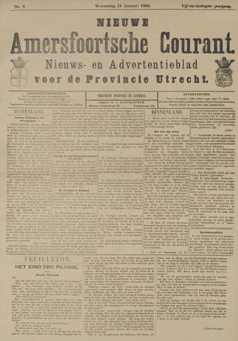 Nieuwe Amersfoortsche Courant 1906-01-31