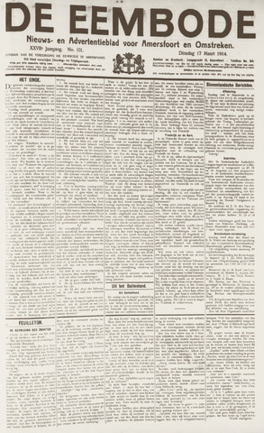 De Eembode 1914-03-17