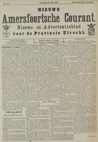 Nieuwe Amersfoortsche Courant 1909-07-24