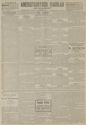 Amersfoortsch Dagblad / De Eemlander 1922-11-09