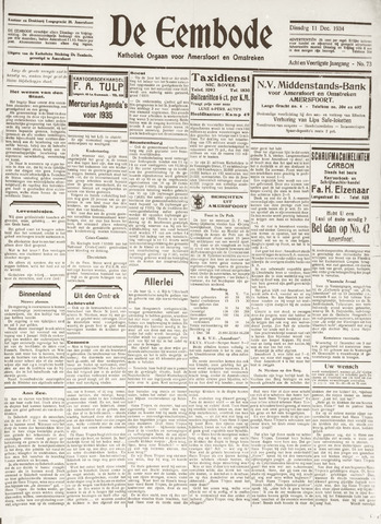 De Eembode 1934-12-11
