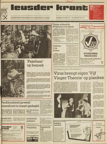 Leusder Krant 1987-04-22