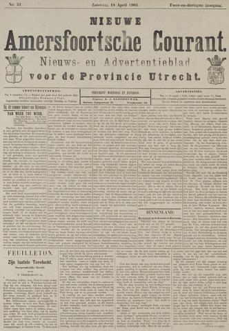 Nieuwe Amersfoortsche Courant 1903-04-18