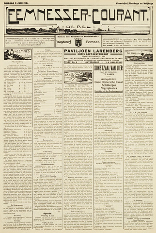 Eemnesser Courant 1924-06-03
