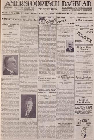 Amersfoortsch Dagblad / De Eemlander 1935-02-20