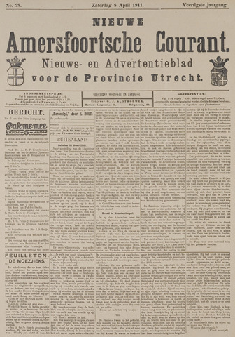 Nieuwe Amersfoortsche Courant 1911-04-08