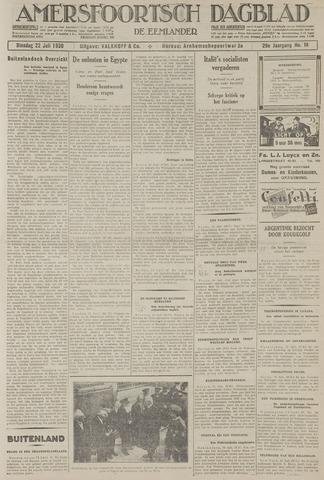 Amersfoortsch Dagblad / De Eemlander 1930-07-22
