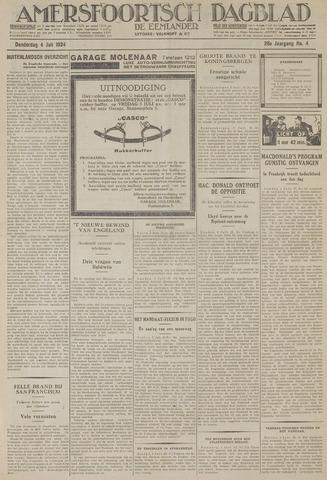 Amersfoortsch Dagblad / De Eemlander 1929-07-04