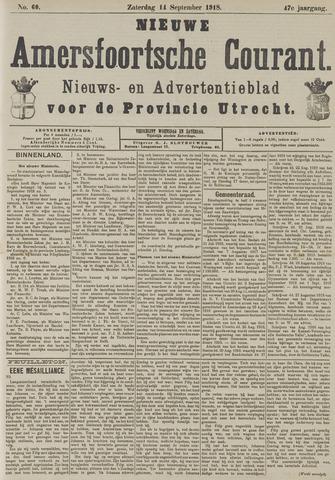 Nieuwe Amersfoortsche Courant 1918-09-14