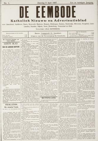 De Eembode 1907-04-06