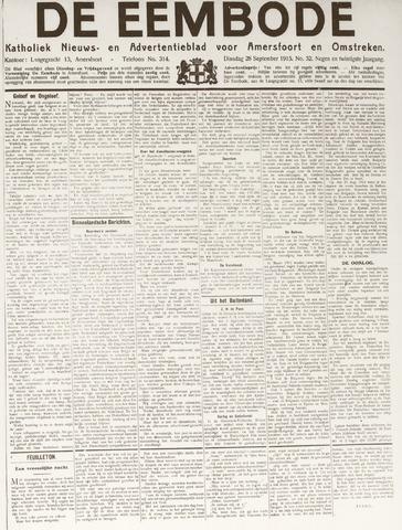 De Eembode 1915-09-28