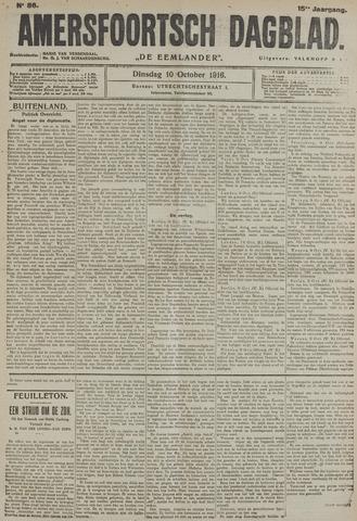 Amersfoortsch Dagblad / De Eemlander 1916-10-10