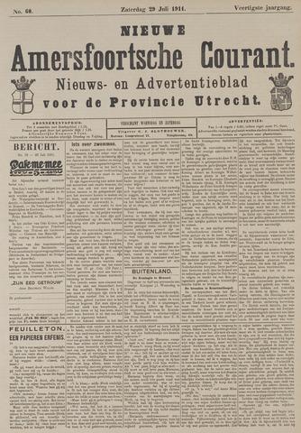 Nieuwe Amersfoortsche Courant 1911-07-29