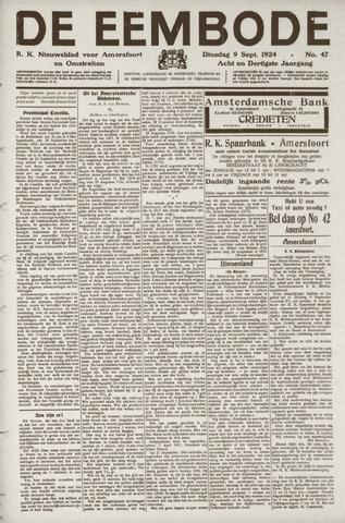 De Eembode 1924-09-09