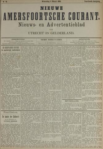 Nieuwe Amersfoortsche Courant 1885-03-04