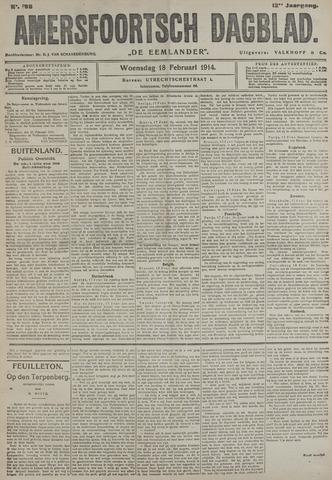 Amersfoortsch Dagblad / De Eemlander 1914-02-18