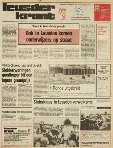 Leusder Krant 1981-11-17