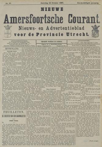 Nieuwe Amersfoortsche Courant 1907-10-23