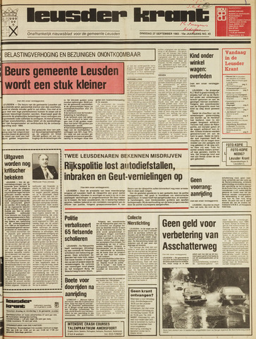 Leusder Krant 1983-09-27