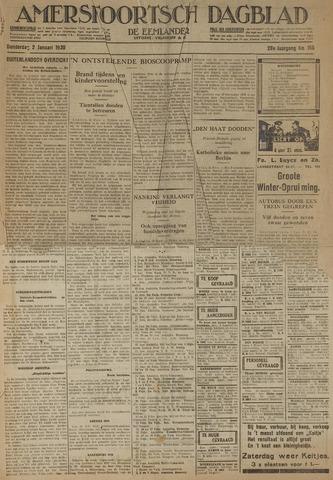 Amersfoortsch Dagblad / De Eemlander 1930-01-02