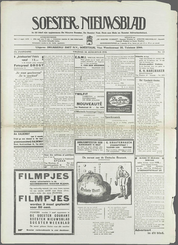 Soester Courant 1938-08-26