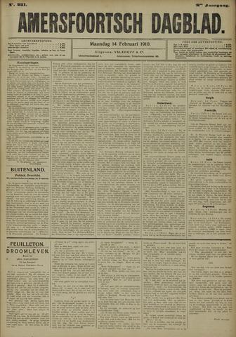 Amersfoortsch Dagblad 1910-02-14