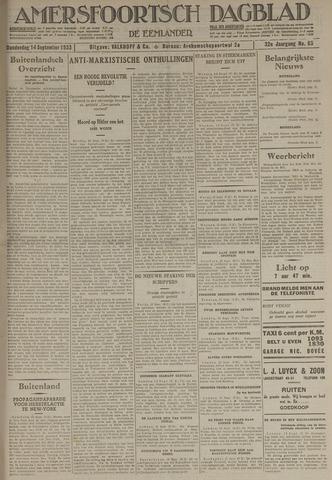 Amersfoortsch Dagblad / De Eemlander 1933-09-14