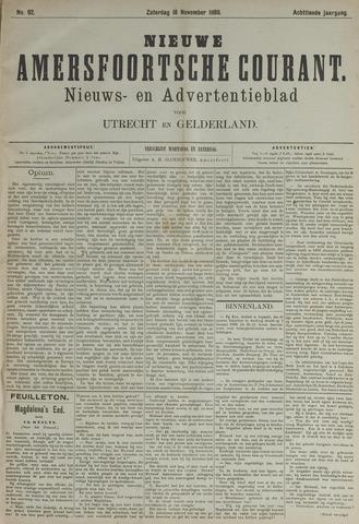 Nieuwe Amersfoortsche Courant 1889-11-16