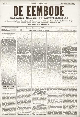De Eembode 1895-04-27