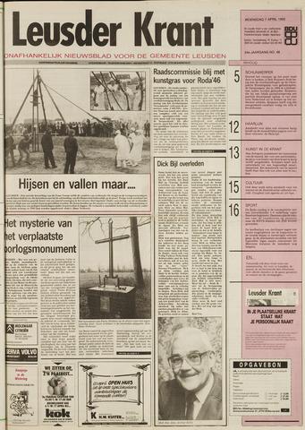 Leusder Krant 1993-04-07