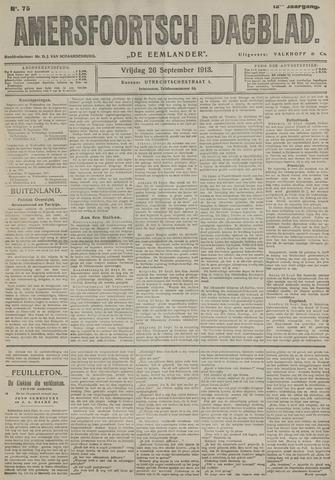 Amersfoortsch Dagblad / De Eemlander 1913-09-26