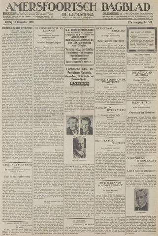 Amersfoortsch Dagblad / De Eemlander 1928-12-14