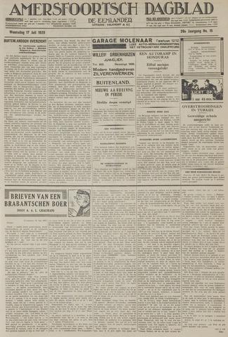 Amersfoortsch Dagblad / De Eemlander 1929-07-17
