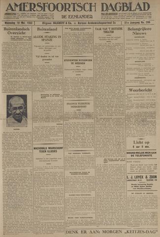 Amersfoortsch Dagblad / De Eemlander 1933-05-10