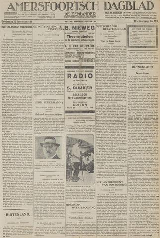 Amersfoortsch Dagblad / De Eemlander 1928-11-22