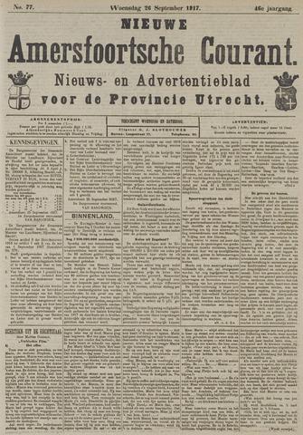 Nieuwe Amersfoortsche Courant 1917-09-26