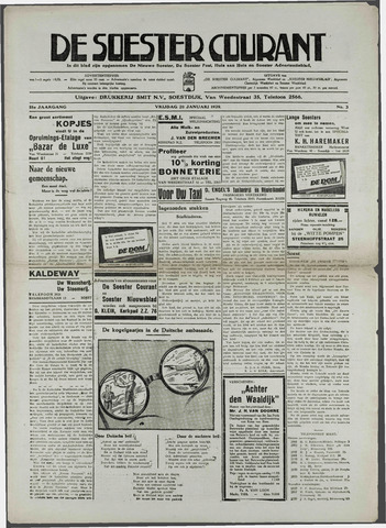 Soester Courant 1939-01-20