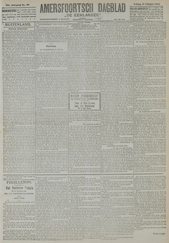 Amersfoortsch Dagblad / De Eemlander 1922-02-10
