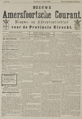 Nieuwe Amersfoortsche Courant 1903-04-01