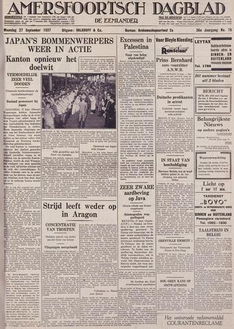 Amersfoortsch Dagblad / De Eemlander 1937-09-27
