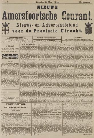 Nieuwe Amersfoortsche Courant 1914-03-14