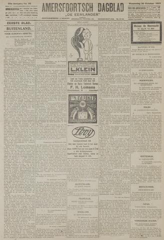 Amersfoortsch Dagblad / De Eemlander 1926-10-20
